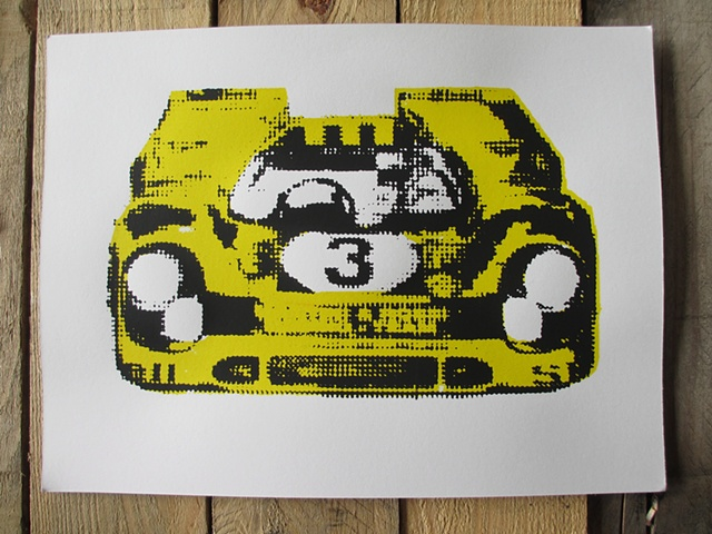 Race Car (Yellow)