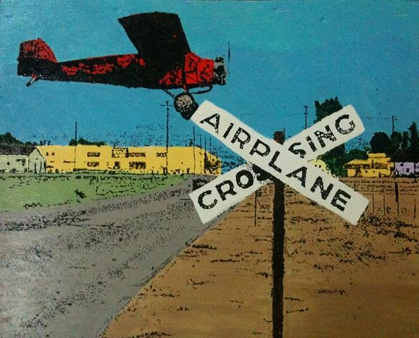 Airplane Crossing