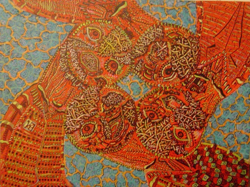 Untitled, Acrylic on Canvas, 2005
