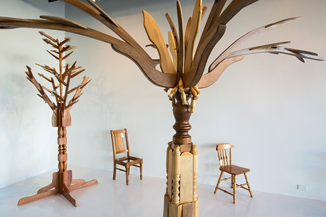 Re-Forestation: How to Make a Tree from a Chair 2013