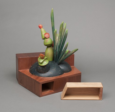 Ikebana Tansu (drawer detail)