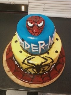 Spiderman for a 6 yr olds birthday
