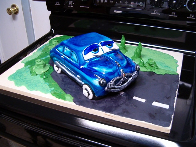 Doc Hudson from Disney's Cars movie