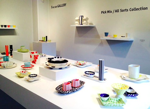 """Pick Mix / All Sorts Collection"" exhibition at Penland Gallery"