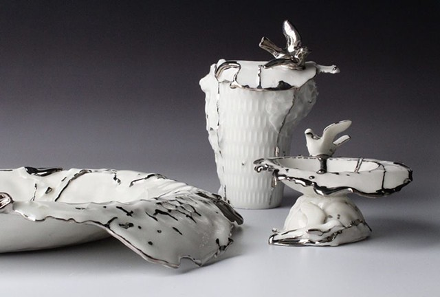 Perfect Imperfection Collection: Bird Series Planters