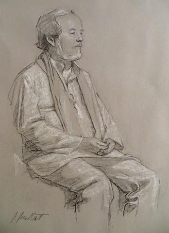 Gil in meditation