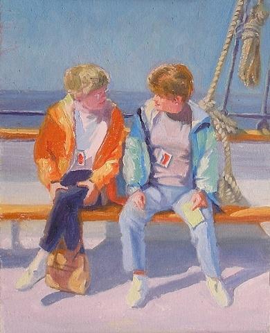 my sisters sailing tour Halifax Harbor