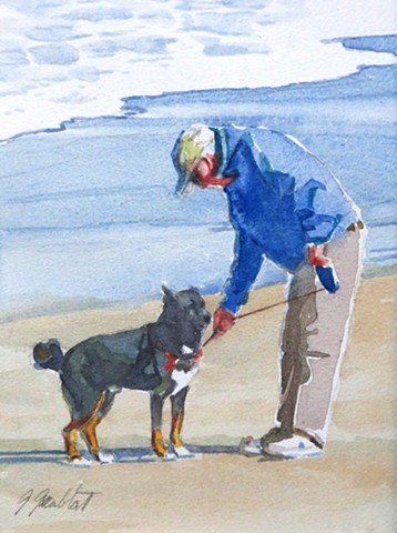 Walking the dog #2