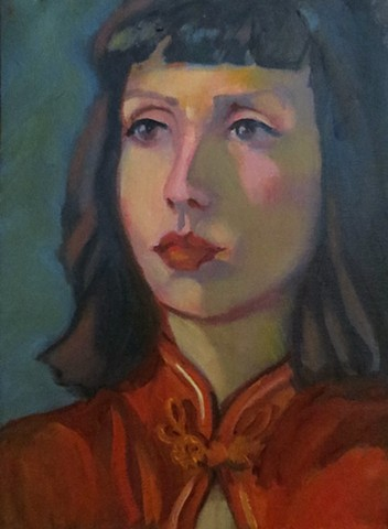 portrait from live model
