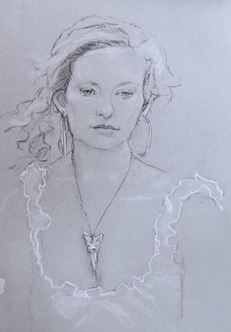 portrait Monhegan
