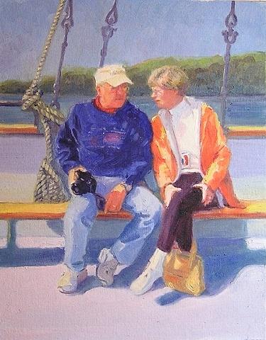 family tour Halifax Harbor