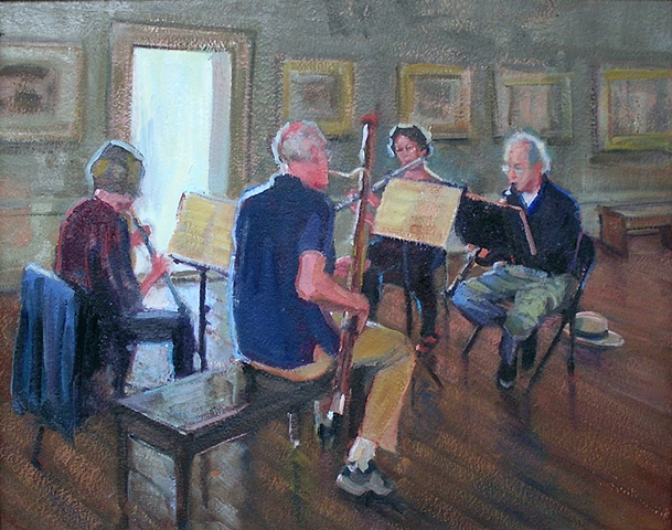 Rehearsal at the Gallery