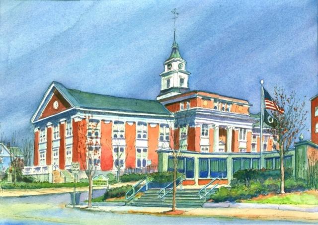 City Hall, Somerville, MA