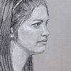 Malden Sketch portrait night May 31, 2012