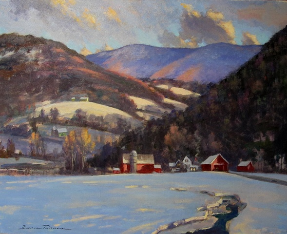 February Thaw - Vermont