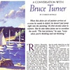 """""""A Conversation with Bruce Turner""""             by Charles Movalli  American Artist Magazine  January, 1996"""