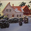 """Winter Morning on Booth Bay Farm"""