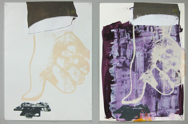 Student Work 7 Course: Intermediate Screenprinting
