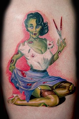 Fan Tattoos — Lora Zombie
