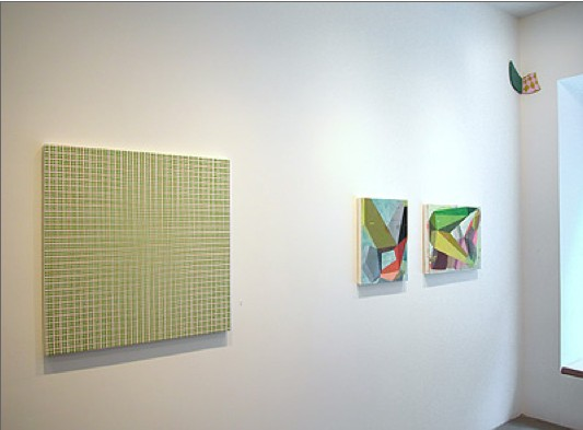Color as Structure, McKenzie Fine Art,  June - August 2014, Installation view
