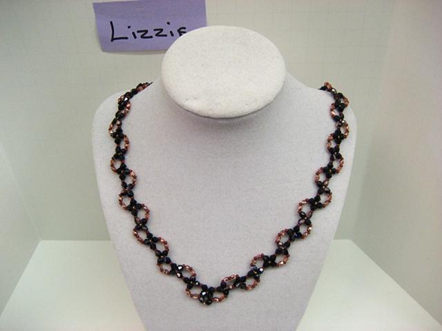 Lobelia Necklace made by Lizzie (NFS)