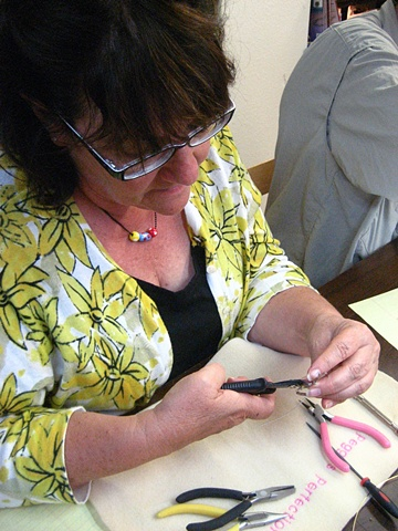 Wire Wrap class with Kelly