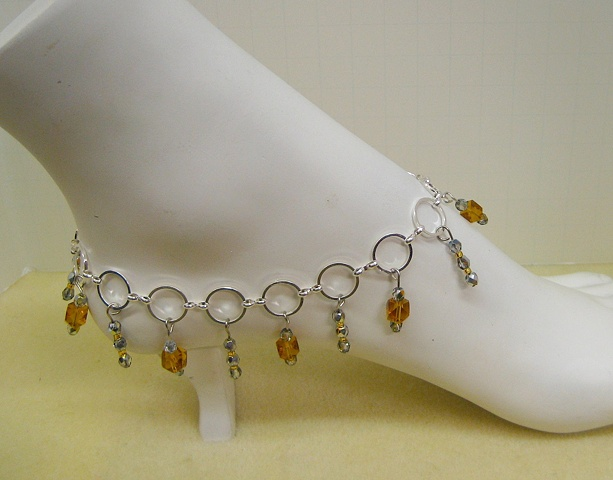 Chain Anklet made by Liz (NFS)