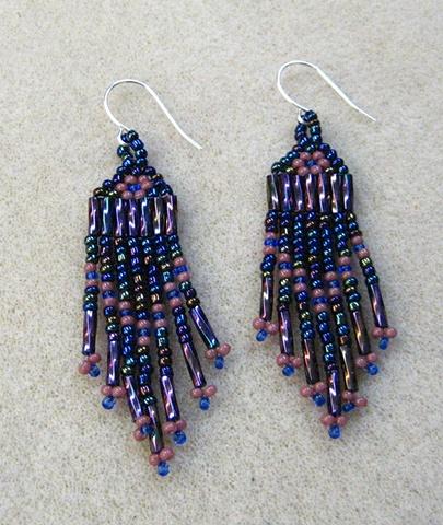 Peyote Earrings by Maria