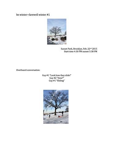 b winter~farewell winter