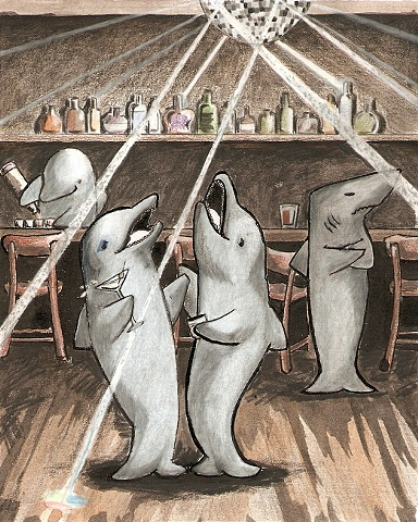 Disco Dolphins