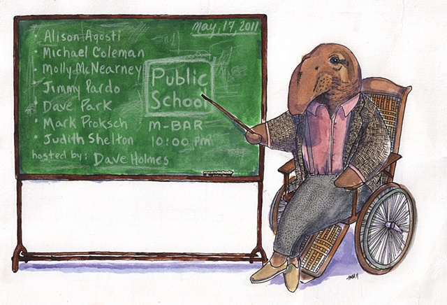 Professor elephant seal.