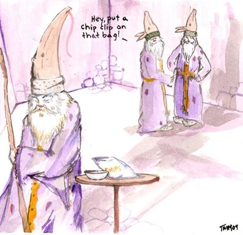 Brandon the Wizard - The Chip Clip