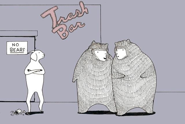The Trash Bar (no bears).
