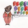 Public Apology featuring a capybara.