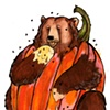 Brown Bearumpkin