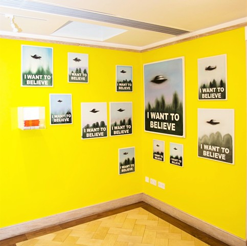 I Want to Believe installation