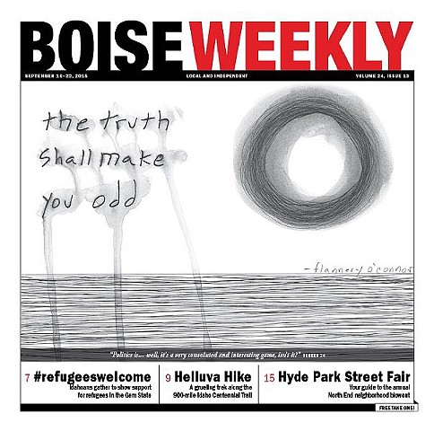 Boise Weekly covers