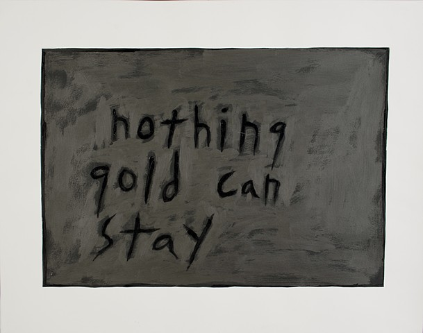 nothing gold can stay (frost, hinton)