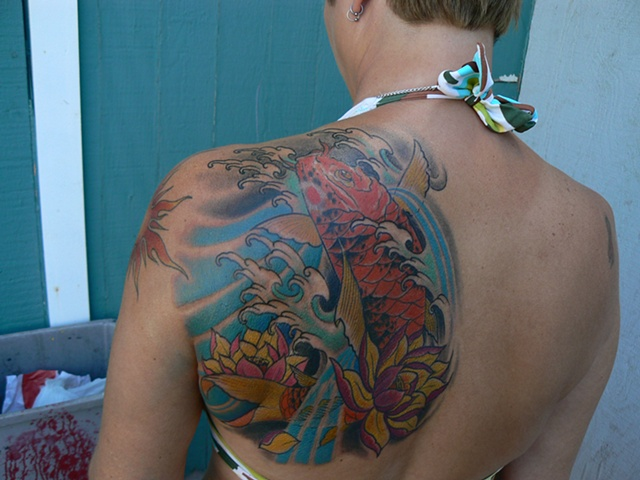Koi shoulder