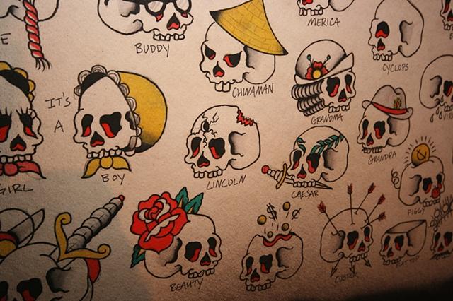 Pick-A-Skull (detail)