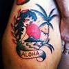 """Aloha"" island scene"