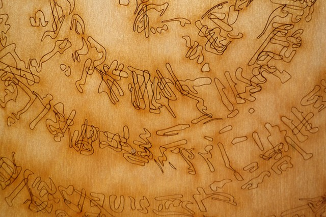 Inscription drawings (ancient prescription) #3, detail