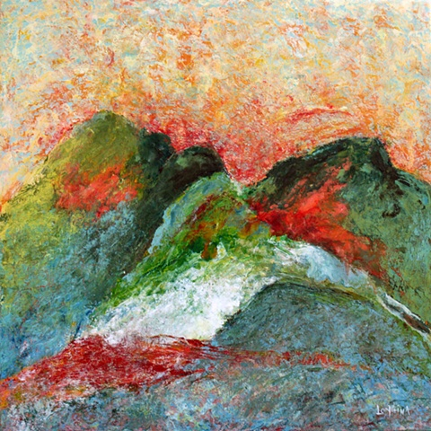 encaustic, fine art, original painting,  abstract