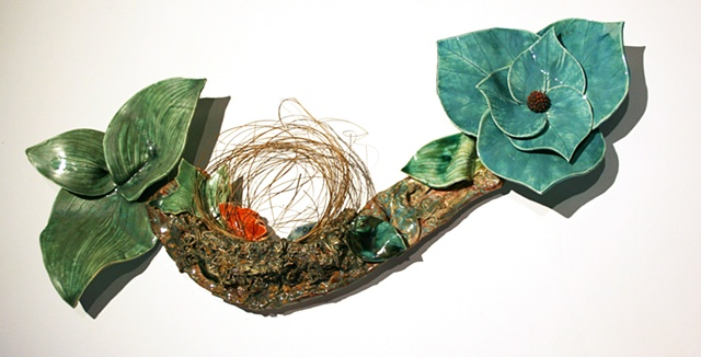 nest in bloom