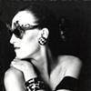 Miriam Slater wearing glasses