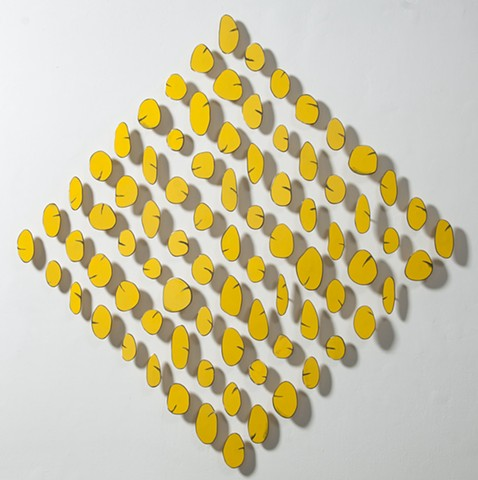 Yellow in Diamond Shape