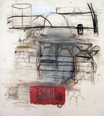 Mark Mulhern Red Suitcase