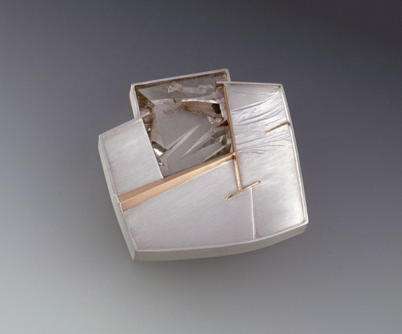Eleanor Moty Intersection Brooch