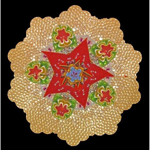 Tilt-A-Whirl Mandala