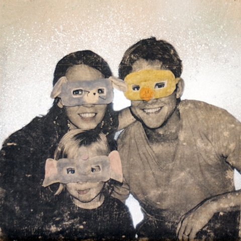 Masked Family Portrait